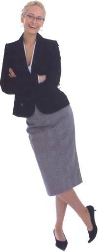 женский деловой костюм фото
