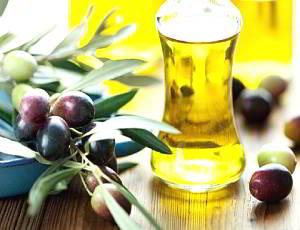 укрепить волосы оливковым маслом