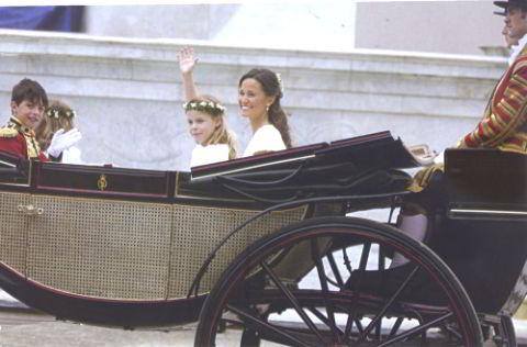 Пиппа Миддлтон фото на свадьбе