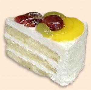 Легкий творожный торт