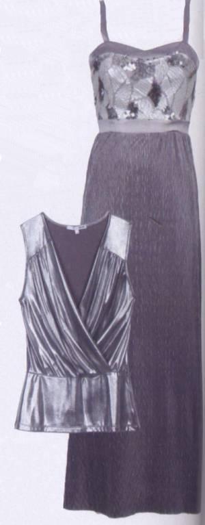 Вечернее платье, топ