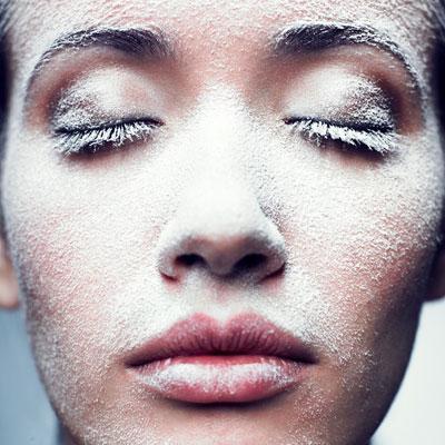 Уход за чувствительной кожей зимой